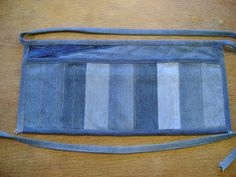Recycled+Denim+Vendor+Apron+with+Hidden+Zippered+by+DianeSladeInc,+$42.00
