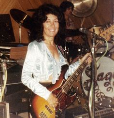 Creator of Luna Guitars, Yvonne de Villiers' mother Hilda Williers. Yvonne's inspiration for Luna Guitars. light, easy to play, affordable guitars.