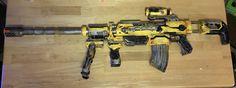 "DIY ""Borderlands"" Paint Job and Modded NERF Gun!"