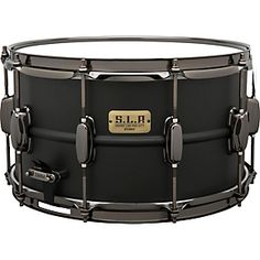 Tama S.L.P. Big Black Steel Snare Drum 14x8 Inch  $249.99