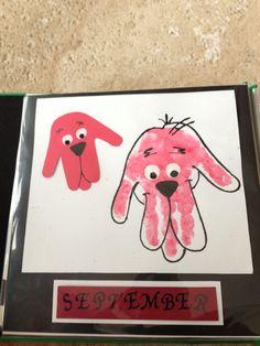Clifford Handprint Art