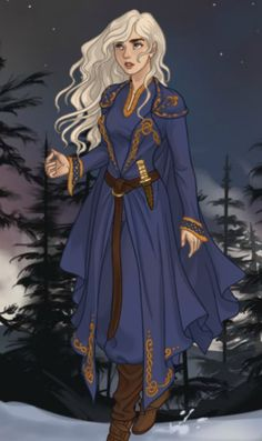 f Sorcerer Robes Dagger Conifer Forest Hills Winter snow Alina The Grisha Trilogy by Leigh Bardugo lg Dnd Characters, Fantasy Characters, Female Characters, Character Creation, Character Concept, Character Art, Fantasy Inspiration, Character Inspiration, Dessin Game Of Thrones