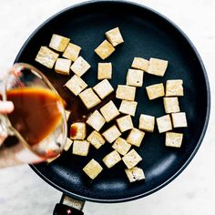 How to Cook Tofu! Our four go-to ways to prepare tofu: baked, sautéed, fried, and scrambled. Perfect for a variety of meals. YUM! #tofu #howto #vegan #vegetarian Firm Tofu Recipes, Veggie Recipes, Diet Recipes, Cooking Recipes, Vegan Vegetarian, Vegetarian Recipes, Vegan Meals, Tofu Tacos, Bariatric Eating