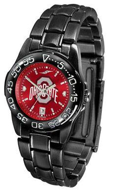 Ohio State Buckeyes Womens Fantom Sport Anochrome Watch