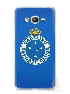 Capa Samsung Gran Prime Time Cruzeiro #1 - SmartCases - Acessórios para celulares e tablets :)