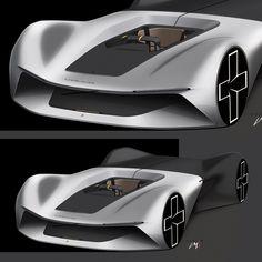 Volvo concept by Luca Menicacci