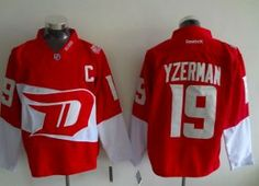 2a31e07af Detroit Red Wings Jersey - Red 2016 Stadium Series - Several Players