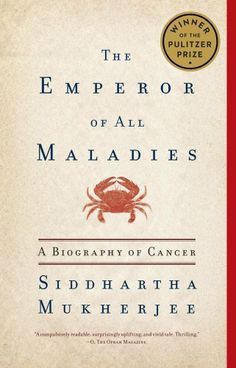 The Emperor of All Maladies: A Biography of Cancer by Siddhartha Mukherjee ($13.11) http://www.amazon.com/exec/obidos/ASIN/B003UYUP58/hpb2-20/ASIN/B003UYUP58 This book is extremely interesting, and very well written. - Dr Mukherjee makes the history, lives and cancer itself real and tells powerful stories throughout the book. - The history is fascinating, the science is surprising and the human stories absorbing.
