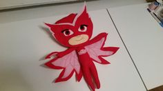 PJ Masks Owlette Felt Doll by DEKrafts on Etsy
