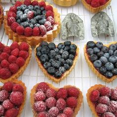 i want a fruit tart. now.