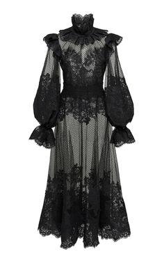 Ruffled Flocked Tulle Maxi Dress by ZIMMERMANN Now Available on Moda Operandi Source by maddelinew dress outfits Fashion Mode, Dark Fashion, Gothic Fashion, Steampunk Fashion, Emo Fashion, Fashion Trends, Mode Kpop, Feminine Dress, Alternative Fashion
