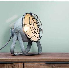Tafellamp Victor - cementkleur