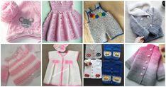 Bakmaya Doyamazsınız 33 Örgü Bebek Giyim Hırka Yelek Bere Modelleri