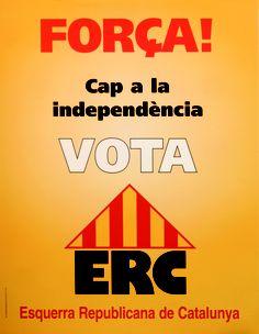 Força! cap a la independència. Cartell 1995