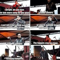 Chris Motionless, I think this is funny