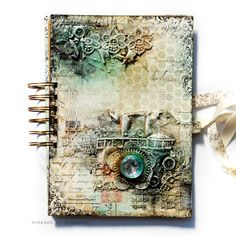 Misted Journal - Scrapbook.com