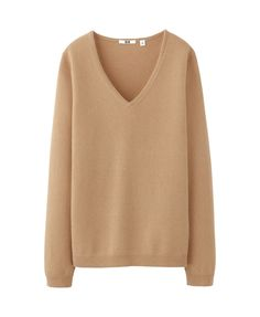 cashmere v neck sweater x uniqlo