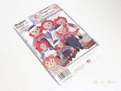 NIP Raggedy Ann & Andy Doll Pattern  Simplicity 8043 Rag