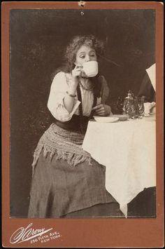"""[Maude Adams as Lady Babbie in """"The Little Minister"""".]"""