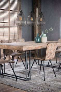 Dining table >> Teca <<  #dining #table