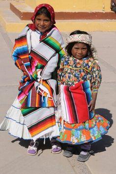Niñas Tarahumaras. CHIHUAHUA MX.
