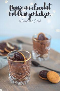 Dessert für Schwangere Mousse au chocolat ohne Ei Cupcakes, Tableware, Inspiration, Food, Deserts, The Bucket List, Orange Cookies, Sheet Cakes, Biblical Inspiration