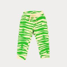Zebra Sweatpant #minirodini #organic-cotton #zoologist