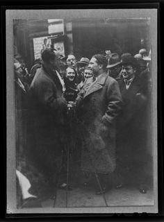 Actor Conrad Veidt Vienna 1931
