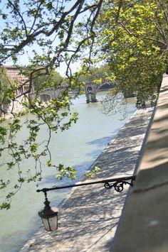 #Tiber #River #Rome #Spring