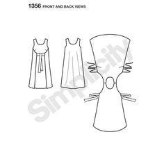 Simplicity Pattern 1356 Misses' Vintage Jiffy Reversible Wrap Dress -- found it at Who Gives a Scrap? reuse store in Fort Collins!
