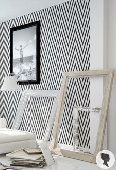 Self Adhesive Chevron Pattern Removable Wallpaper D137 by Livettes on Etsy https://www.etsy.com/listing/179141878/self-adhesive-chevron-pattern-removable