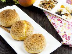 Un alt fel de eclere – un desert spectaculos, după o rețetă japoneză! Food Categories, Muffin, Sweets, Bread, Breakfast, Desserts, Recipes, Morning Coffee, Tailgate Desserts