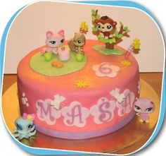littlest pet shop — Birthday Cake Photos