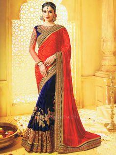 Saree with Two Tone Color.... #rajwadi #mothersday #motherslove #bestmother #Firstteacher #SuperMom #HappyMothersDay #saree #Indianfashion #womensfashion #indiandiva #sareeswag