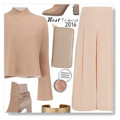 """""""Best trend 2016"""" by simona-altobelli ❤ liked on Polyvore featuring TIBI, Proenza Schouler, Burberry, Panacea, Marc Jacobs, Obsessive Compulsive Cosmetics, MyStyle, nude, polyvorecontest and culottes"""