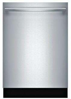 "SHX68T55UC Bosch 800 Series 24"" Bar Handle Dishwasher - Stainless Steel $894.10 44db"
