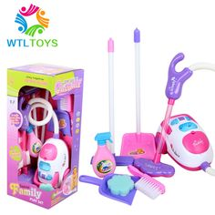 Aliexpress.com : Buy Electric vacuum cleaner furniture 2 3 baby cleaning tool girl toys set from Reliable tools toys suppliers on TGLOE. $12.98