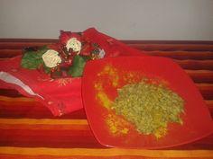 Lenticchie al latte di cocco e curry