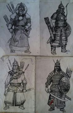 Mongolian warriors ... the partial historical basis for the Dothraki