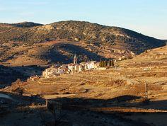 Tronchón en el Maestrazgo de Teruel. Pueblo donde nació mi abuelo paterno.