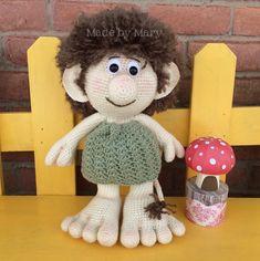 PDF Pattern: Terrick the Troll Crochet Pattern by maryabbie986