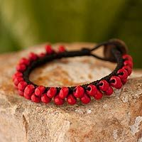 Crimson Mantra from @NOVICA, They help #artisans succeed worldwide.