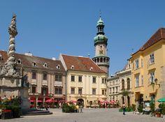 County Hall in Sopron - Sopron megyehàza