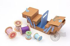 The Papercraft Post: Papercraft Sewing Accessories Gallery