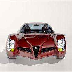 alfa romeo 1900 ss concept 3d model max obj fbx mtl 1