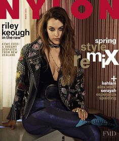 0ae5d427c15f Danielle Riley Keough featured on the Nylon cover from March 2016 Elvis  Presley s Granddaughter