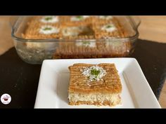 Böyle Tatlı Görmediniz 😋 Yapması ÇOK KOLAY kıyır kıyır Bir Lezzet ❗️ - YouTube Tart, Make It Yourself, Ethnic Recipes, Desserts, Food, Youtube, Essen, Tailgate Desserts, Deserts