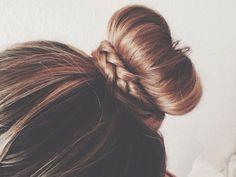 Crown Bun hair bun hair ideas hairstyles hair pictures hair designs hair images crown bun