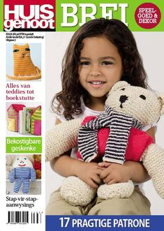 Huisgenoot Brei Uitgawe 2011 no Easy Knitting Patterns, Knitting Kits, Free Knitting, Baby Knitting, Crochet Poppy, Womans Weekly, Different Stitches, You Magazine, Vogue Knitting