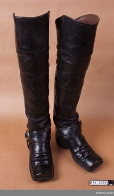 18th Century, Riding Boots, Footwear, Europe, Vintage, Shoes, Design, Fashion, Leather